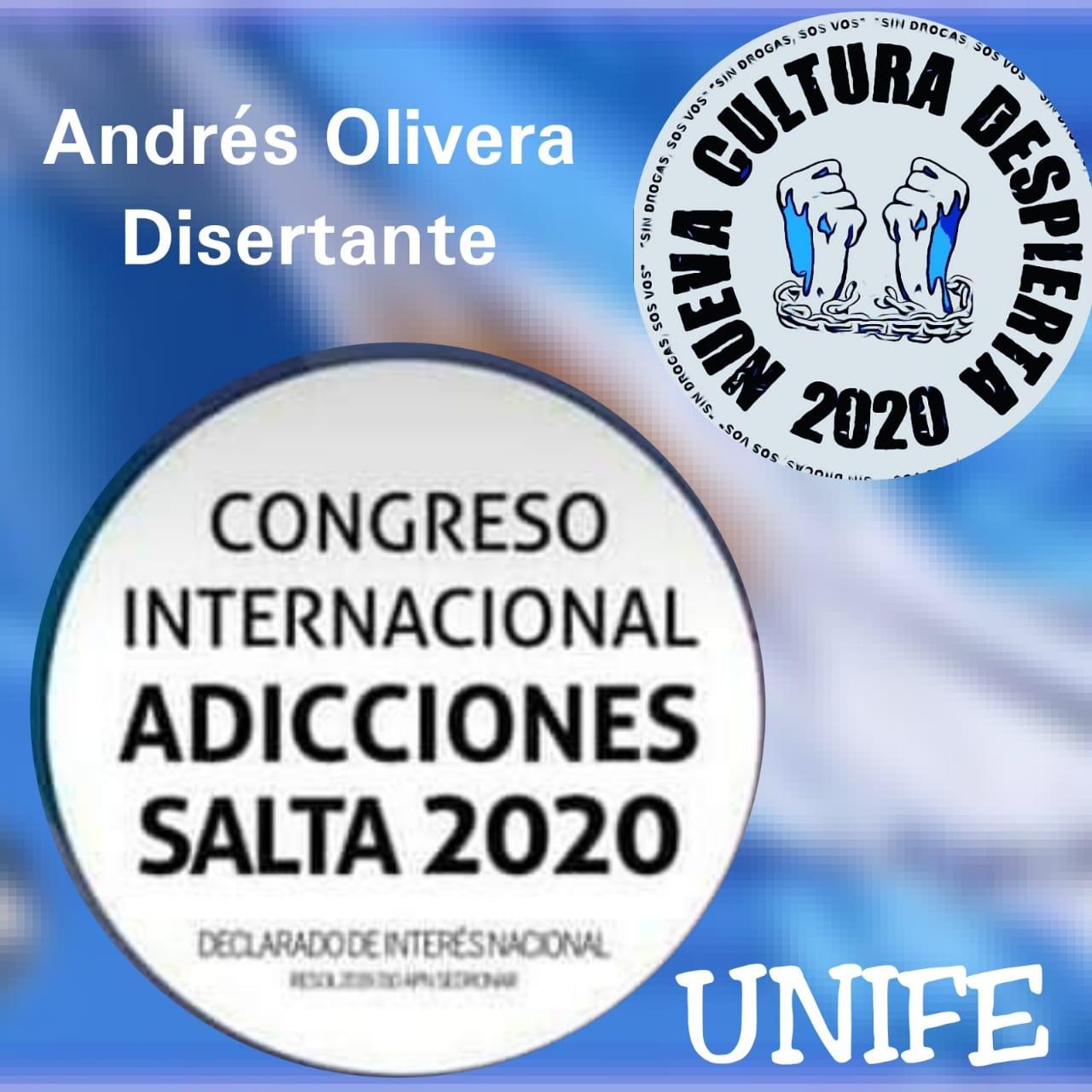 Congreso sobre Adicciones Salta 2020