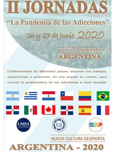 II Jornadas de Adicciones NCD 2020