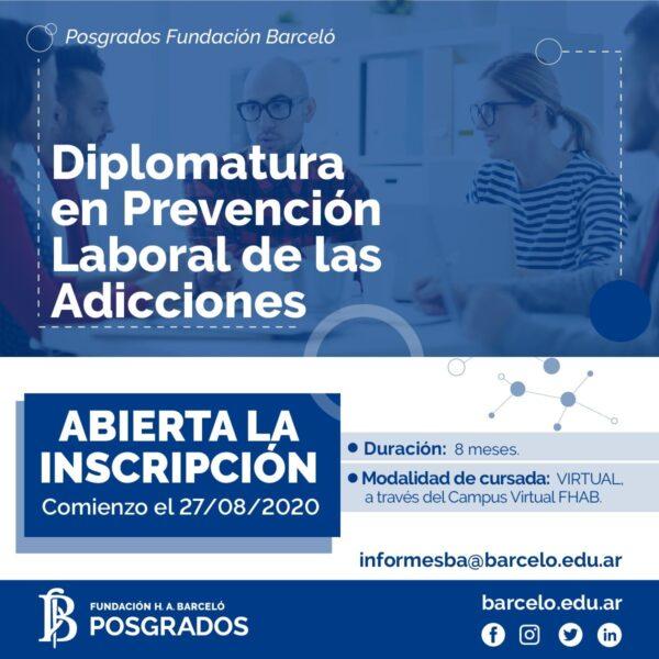 Diplomatura en Prevención Laboral de las Adicciones