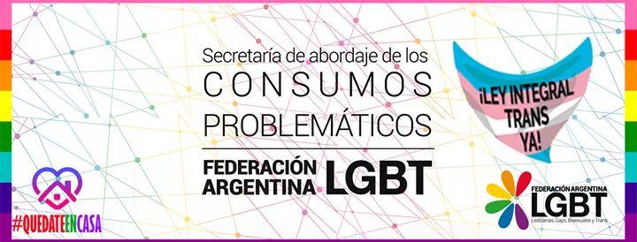 #NCD Secretaría de Abordaje de Consumos Problemáticos Federación Argentina LGBT @ConsumosFALGBT  · Servicio comunitario LGBT