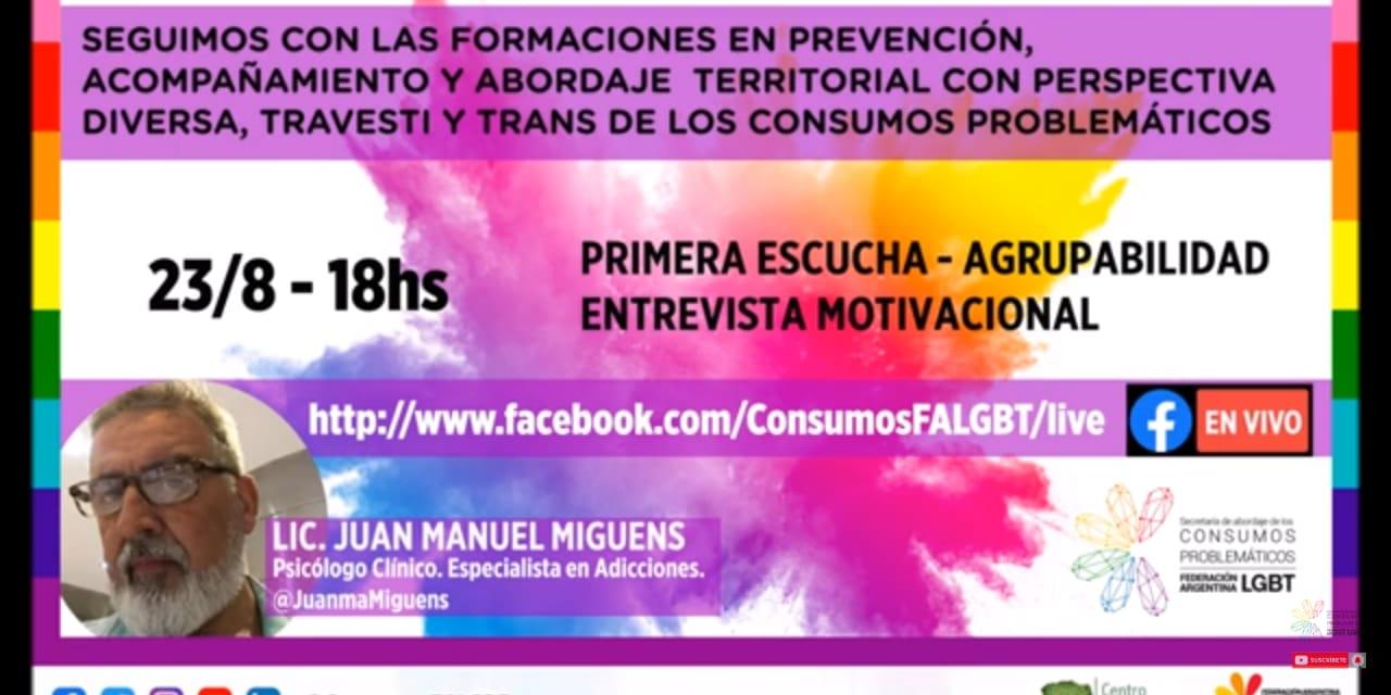 Secretaría de Abordaje de Consumos Problemáticos Federación Argentina LGBT @ConsumosFALGBT  · Servicio comunitario #NCD2020