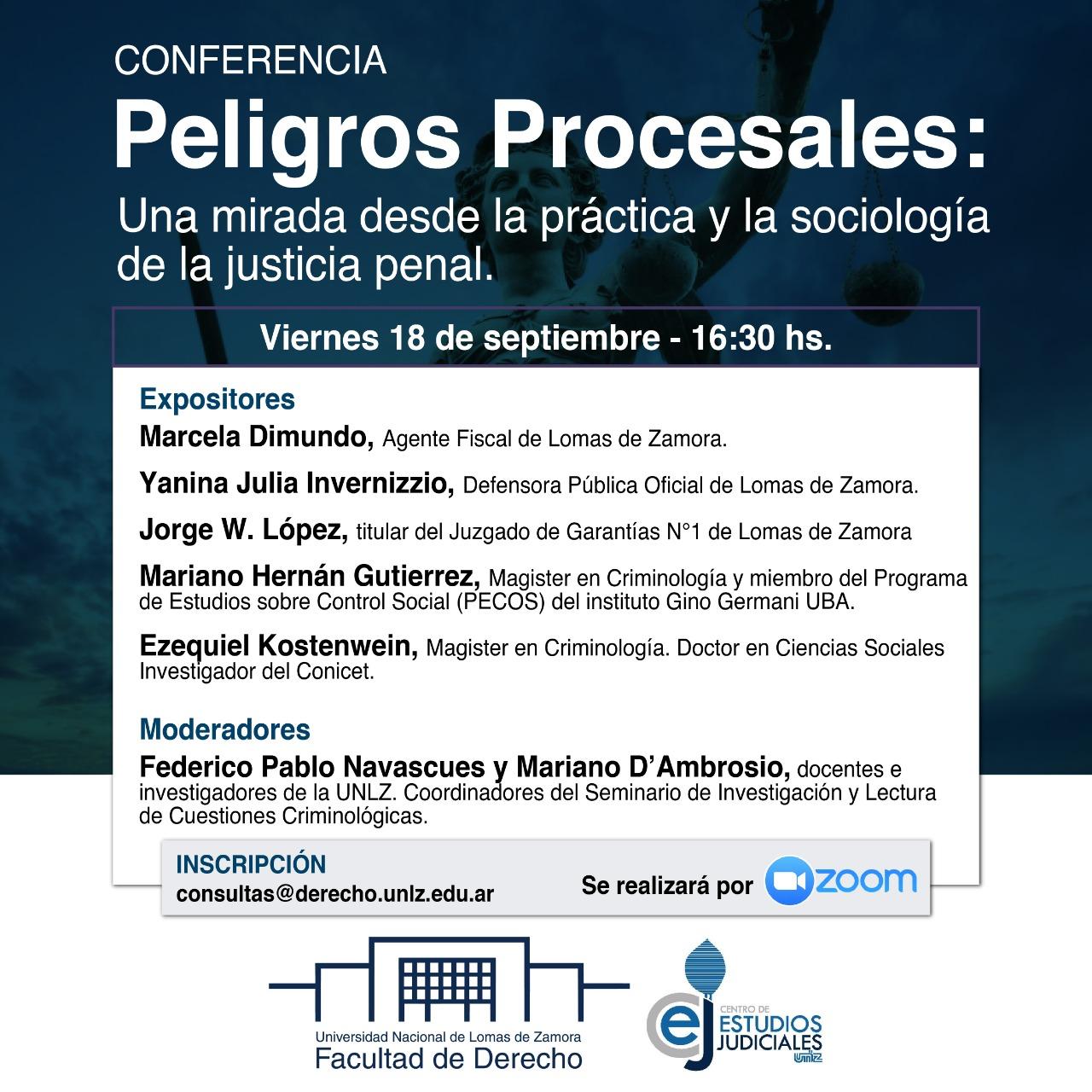 PELIGROS PROCESALES 18/9/2020