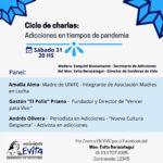 #NCD20200 CICLO DE CHARLAS «ADICCIONES EN TIEMPOS DE PANDEMIA» SABADO 31/10 20HS