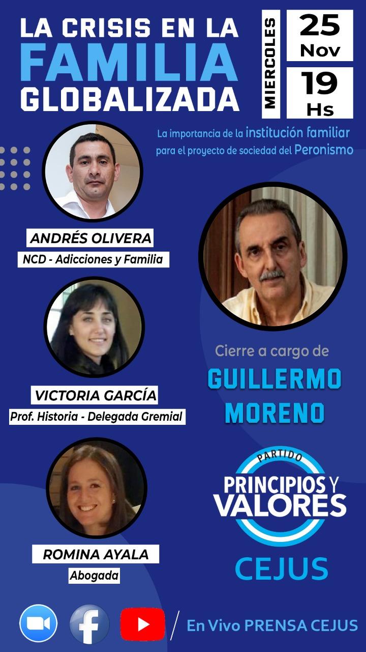 #NCD2020 Andrés Olivera en la charla «La Crisis en la Familia Globalizada» 25-11-2020