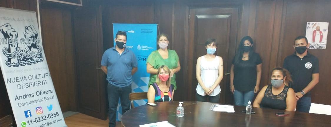 JUNTOS SOMOS MAS NCD EN SEDRONAR  Movimiento nacional de prevención y toma de conciencia en adicciones de  la república Argentina