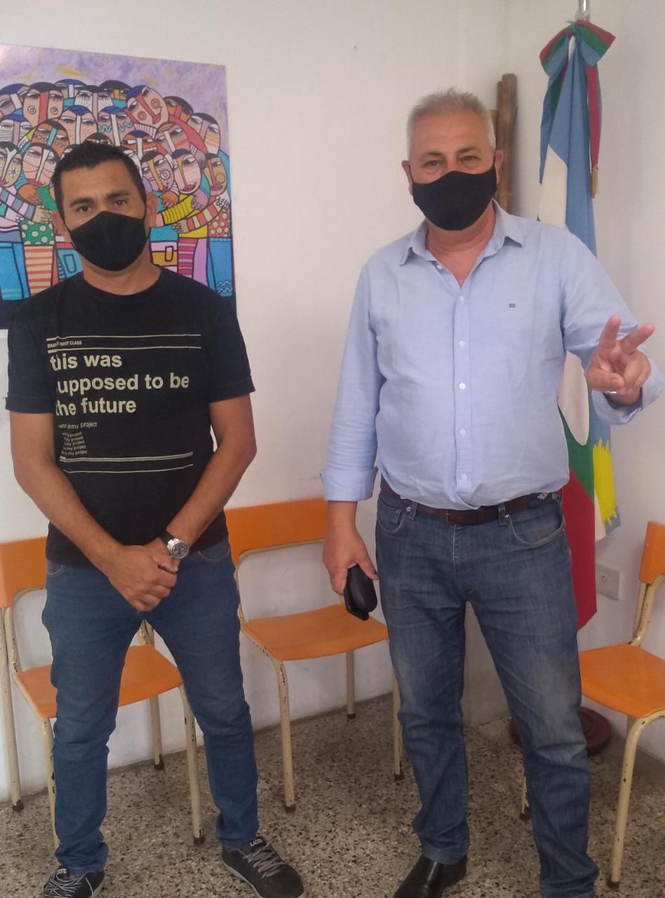 Carlos Dabalioni , secretario derechos humanos, de niñez y adolescencia y adicciones del municipio de Ensenada (BS AS)