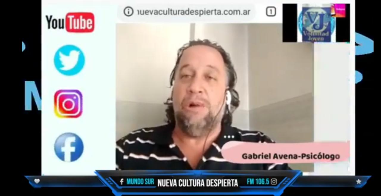 Gabriel Avena -Psicólogo (UBA, 1994) -Experto en Consumo Problemático de drogas