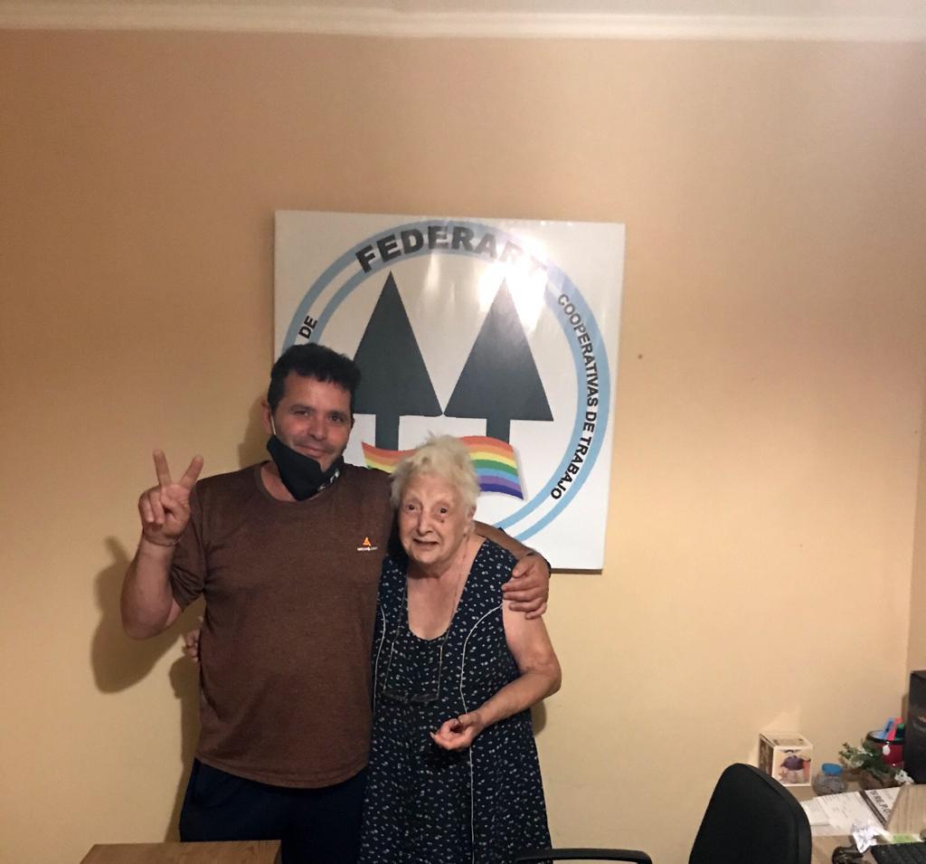 «COCA «Velazco, Madre de Plaza de Mayo con el movimiento NCD