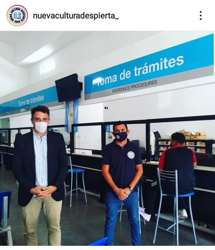 Dirección Nacional de Migraciones Juan Manuel Aceto Benítez CON NCD