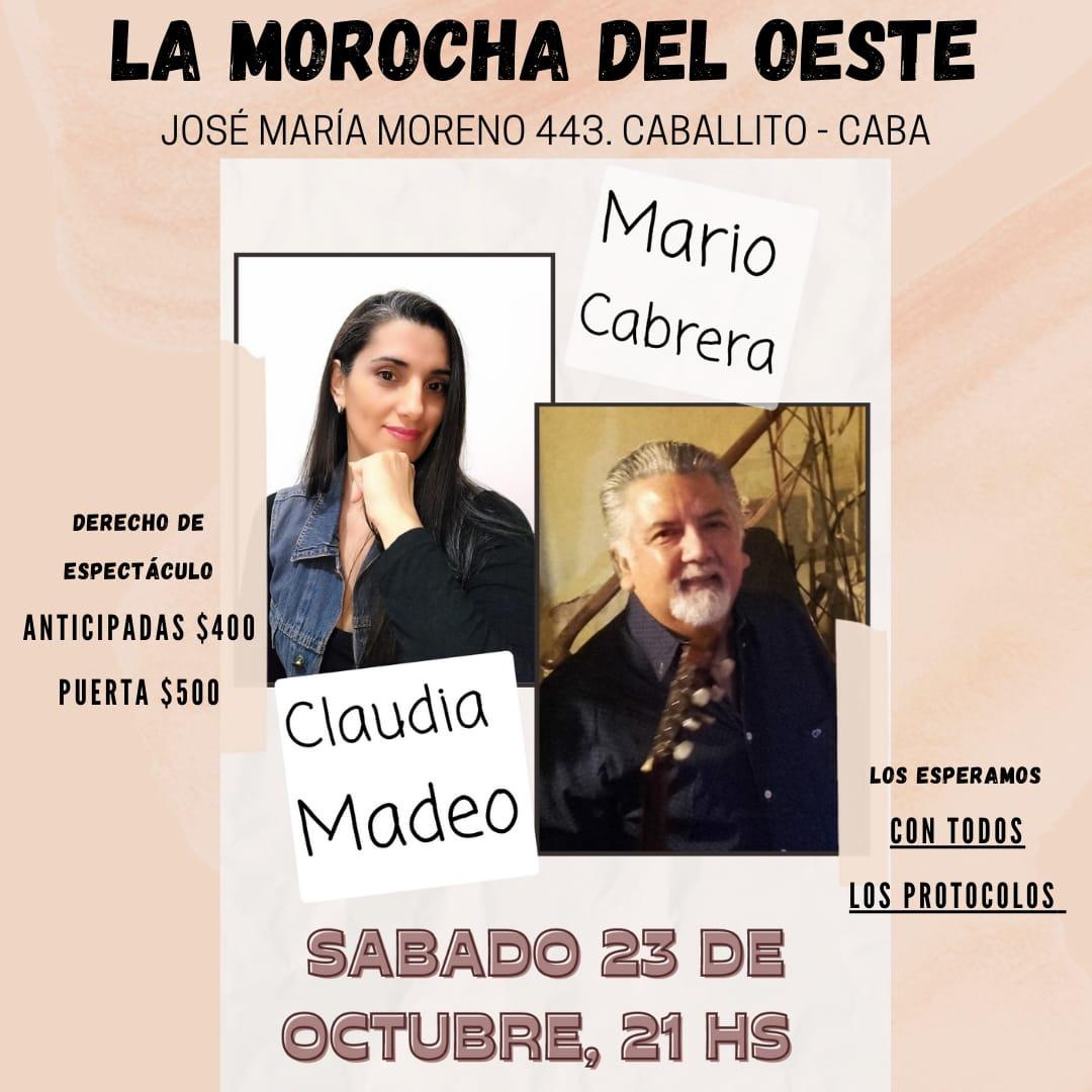 10 DE OCTUBRE «DIA DE LA SALUD MENTAL» CLAUDIA MADEO – MARIO CABRERA