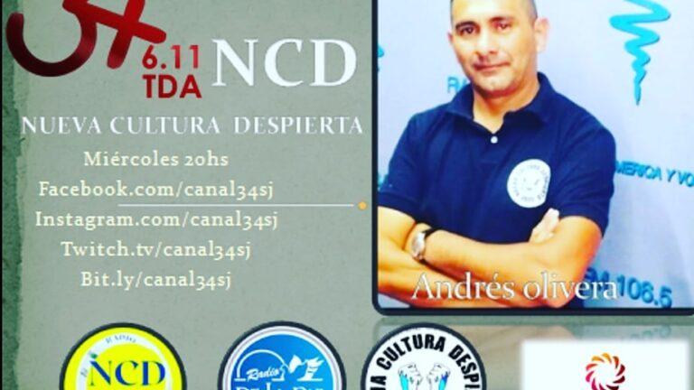 NCD  LLEGA A LA TELEVISION DIGITAL ABIERTA POR CANAL 34 DE SAN JUAN – MIERCOLES 20HS